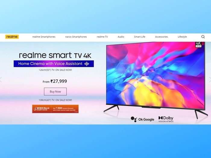 realme tv offer