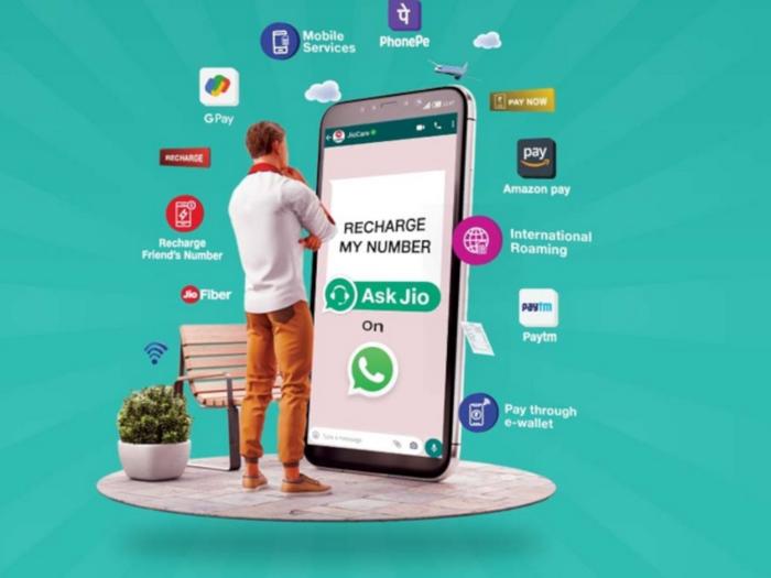 Jio WhatsApp chatbot