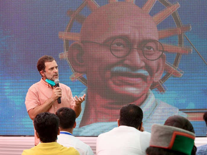 कांग्रेस नेता राहुल गांधी