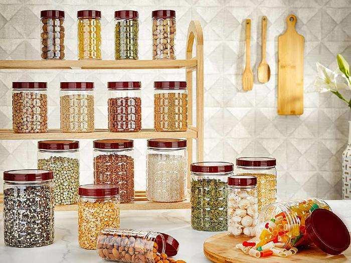 Airtight Storage Jars : बारिश के मौसम में खाने के सामान को सीलन से बचाएंगे ये एयर टाइट Storage Jars, डिस्काउंट पर उपलब्ध
