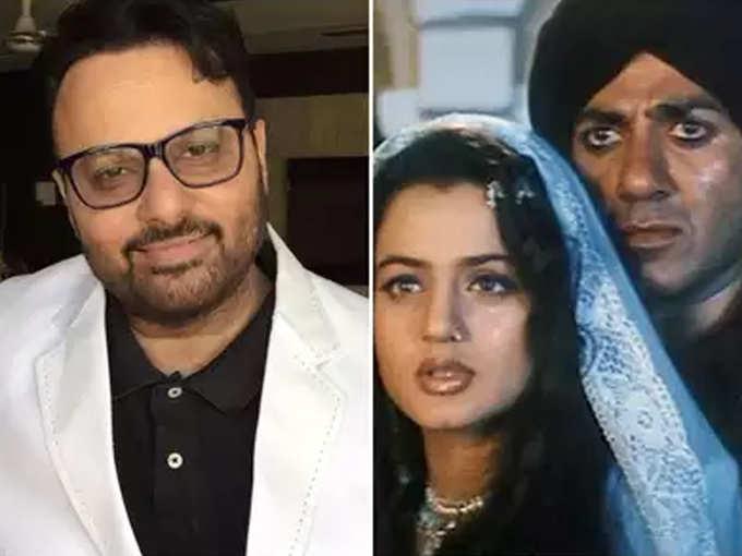 Director Anil Sharma, Sunny Deol And Ameesha Patel