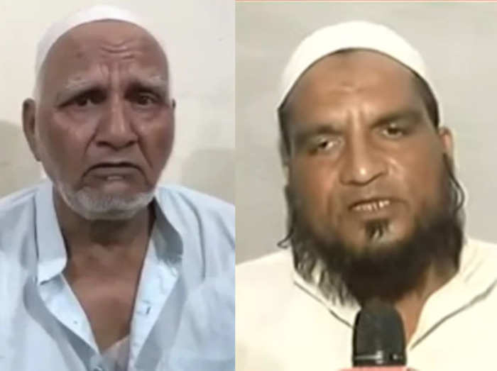 Ghaziabad Old man and his son
