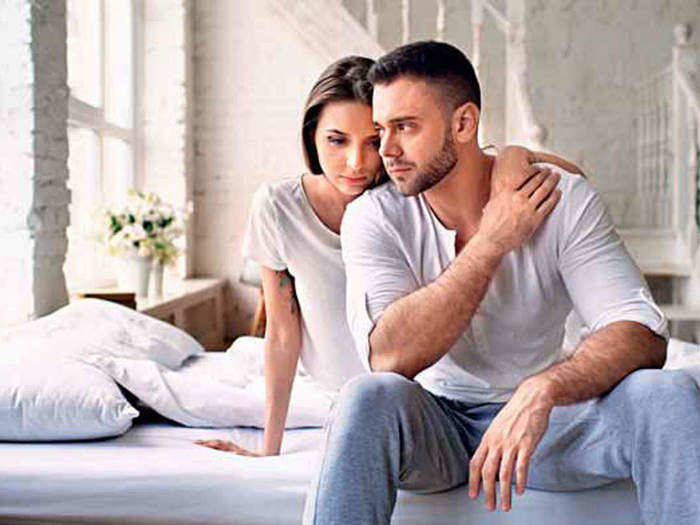 how to calm your mind during stressful situation and fight with partner in love relationships