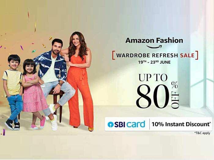 Amazon Fashion Wardrobe Refresh Sale : शुरू होने वाला है फैशन का महामेला, इस बार मिलेंगे इतने ऑफर्स