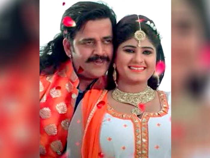 Ravi Kishan And Neha Shree