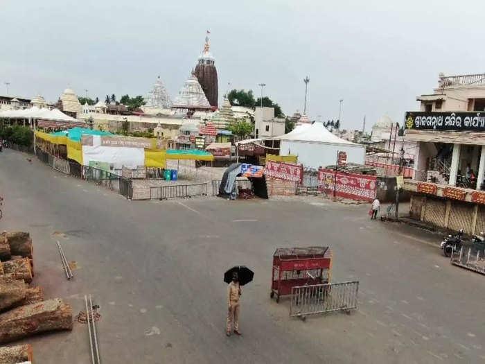 ओडिशा में लॉकडाउन