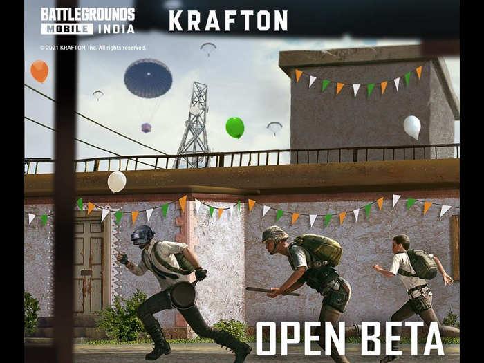 Battlegrounds Mobile India Beta Download