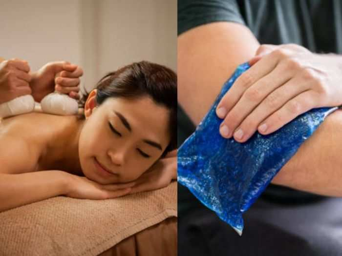 heat or cold which compress is better to relieve pain and swelling know their types treatment and difference