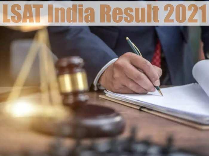 LSAT India Result 2021