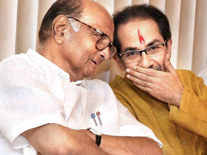 uddhav and sharad pawar