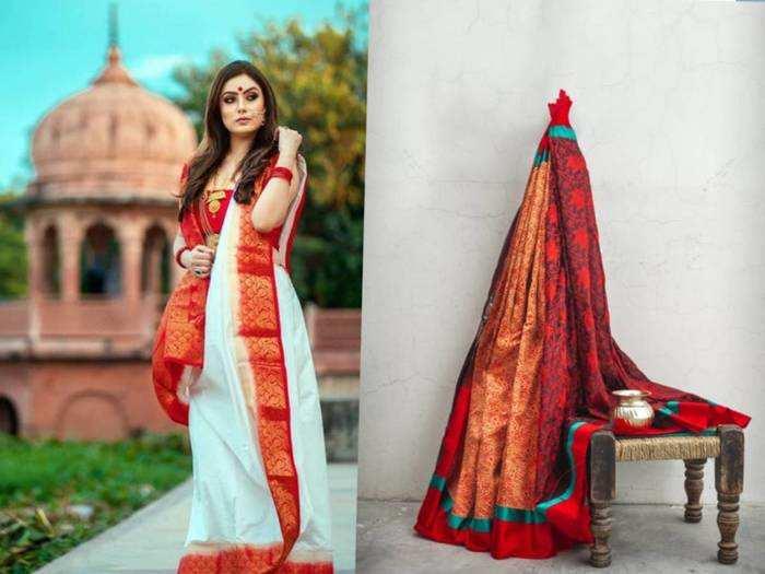 Saree On Fashion Sale : ₹8,999 की साड़ी केवल ₹2,149 में खरीदें, शुरू हो गई प्राइम मेंबर्स के लिए फैशन सेल