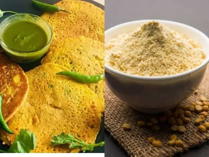 are you also eating the impure gram flour and know how to identify real or fake besan