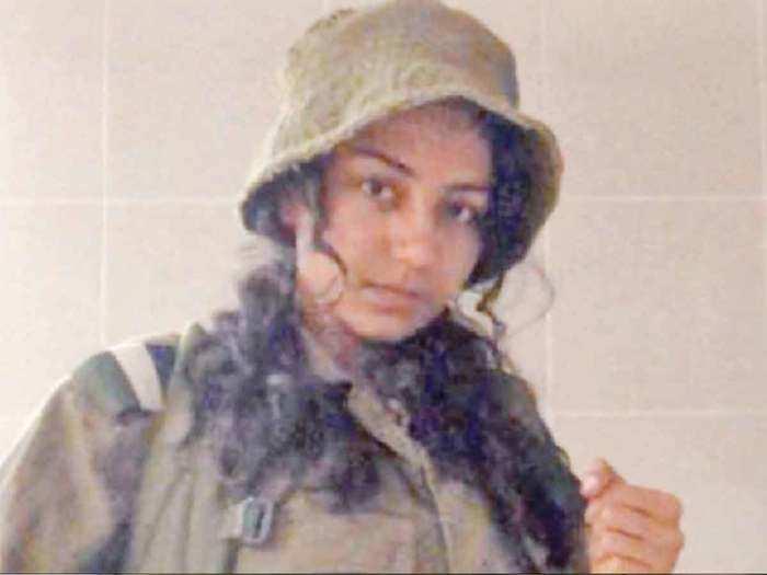 israel army idf striking gaza with gujarati girl nitsha muliyasha against hamas