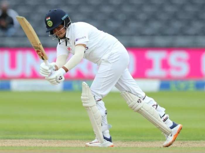 india women tour of england : shafali verma hits 96 runs in debut test, cricket fraternity praise and caller lady sehwag