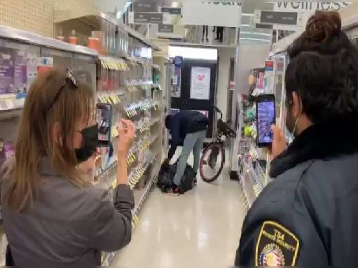 Man shoplifts From Drug Store