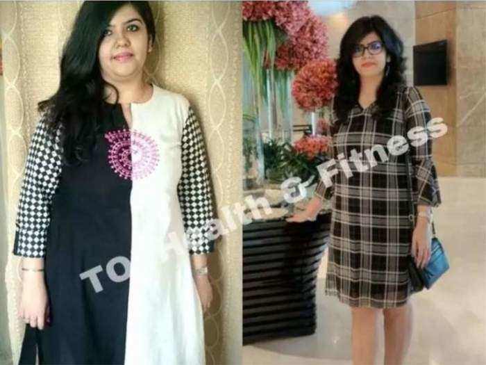 with the help of this breakfast munmun bhasin lost 24 kg in one year weight loss inspirational story