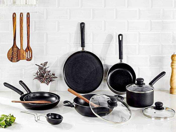 Non Stick Cookware Sets : इन Cookware Sets से कुकिंग होगी आसान, 12 पीस का सेट केवल 1,299 रुपए में