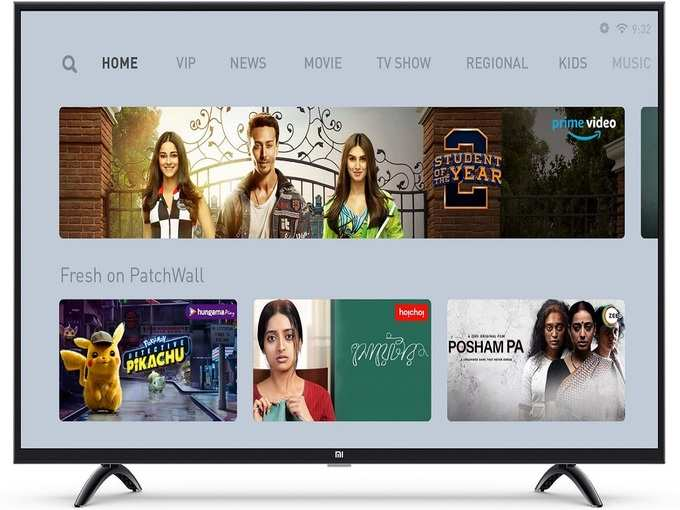 Mi 4X 43 inch Ultra HD 4K LED Smart Android TV