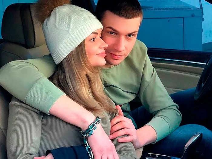 Viktoria Pustovitova and Alexander Kudlay