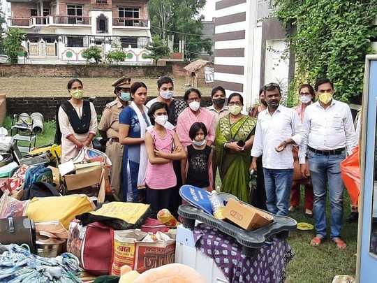 Ayodhya News: SDM सदर पर विधवा महिला और उसके बच्चों को घर से बाहर करने का आरोप