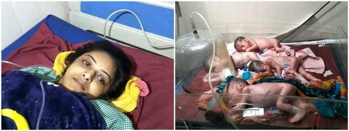 बाराबंकी में 22 साल की महिला ने 4 बच्चों को दिया जन्म, परिवार में खुशी का माहौल