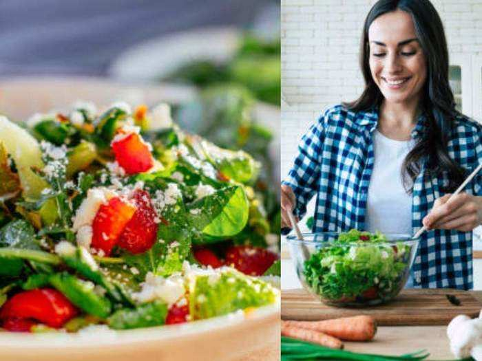 how to make a vegetable salad for instant weight loss and other health benefits