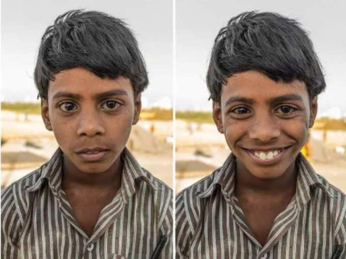ये सच्ची मुस्कान...