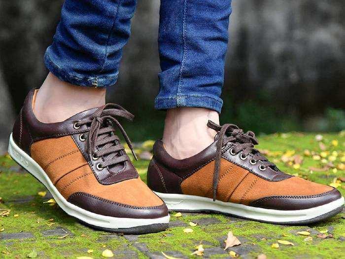 Casual Shoes : स्टाइलिश और कंफर्टेबल Mens Shoes पर मिल रहा है खास डिस्काउंट
