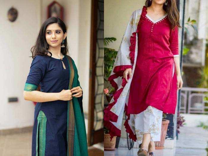 Salwar Kurti Set : किसी भी मौसम में पहनने के लिए बेस्ट हैं ये Salwar Kurti, मिल रहा है खास ऑफर