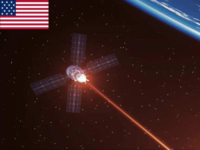 Directed-Energy Weapons Space
