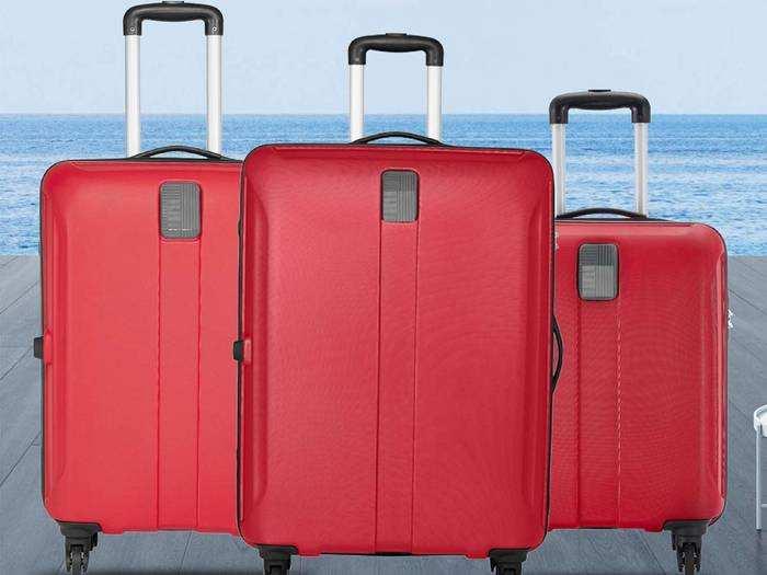 Suitcase Set : 74% तक के डिस्काउंट पर मिल रहे हैं ब्रांडेड Suitcase Set, Safari, Skybags और VIP जैसे ब्रांड हैं उपलब्ध