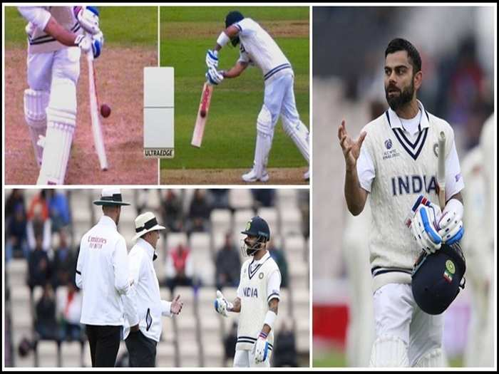 Virat Kohli and umpires