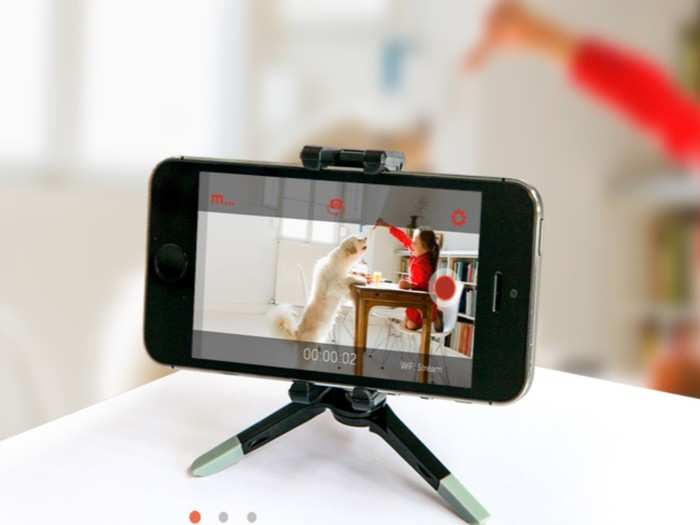 How to convert phone into camera