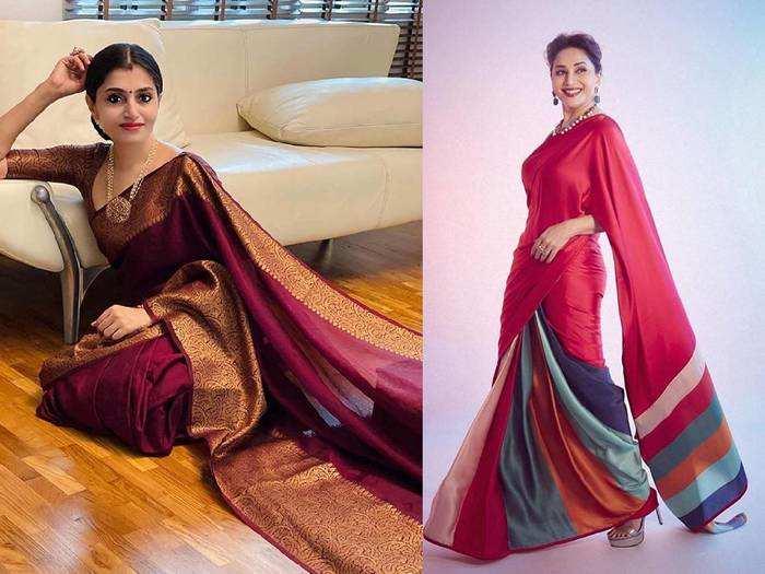 Saree On Wardrobe Refresh Sale : क्वालिटी में पर्फेक्ट हैं ये खूबसूरत Saree, केवल 999 रुपए में सेल से खरीदें