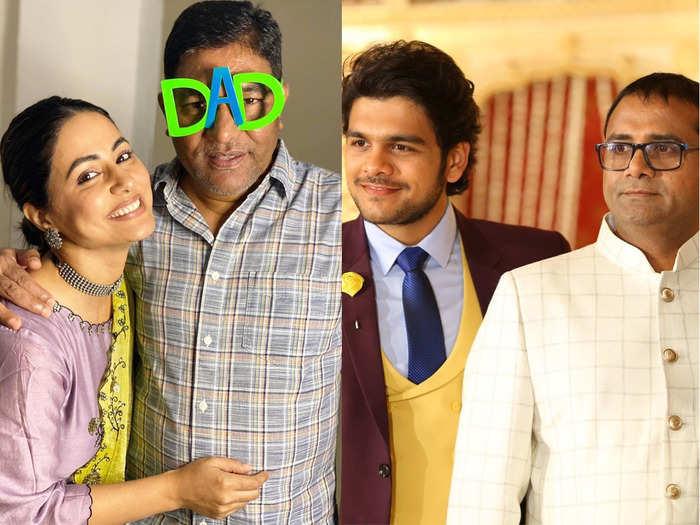 fathers day hina khan to taarak mehta tappu aka bhagya gandhi tv celebs who lost their dear dad amid coronavirus