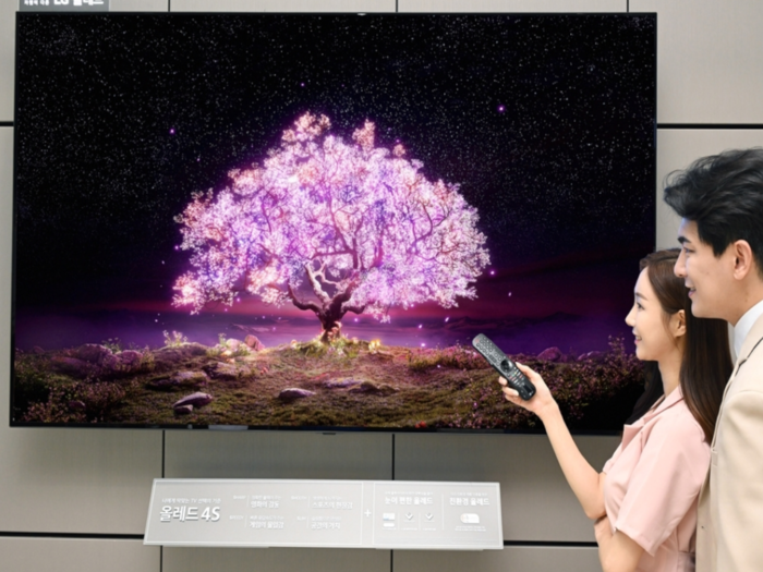 LG launches worlds first 83-inch OLED TV
