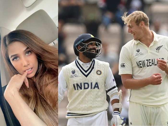 Poonam Pandey and Team India
