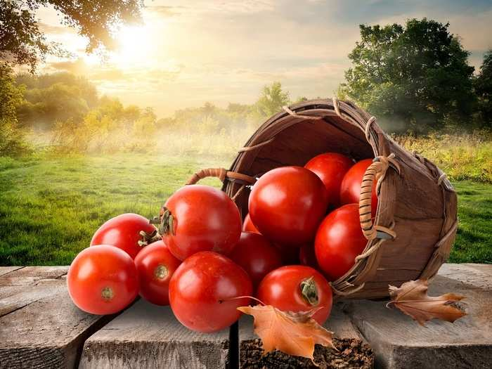 tomato for face glow