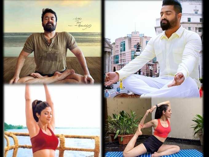 International yoga day 2021: యోగా తోనే సరైన ఫిట్నెస్ అంటున్న హీరో హీరోయిన్స్