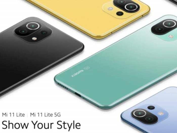 Xiaomi Mi 11 Lite launch Price specifications India 1