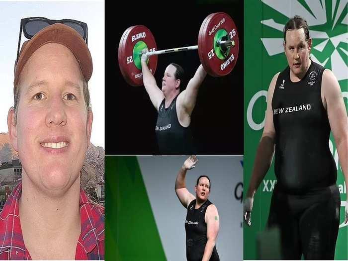 transgender weightlifter Laurel Hubbard