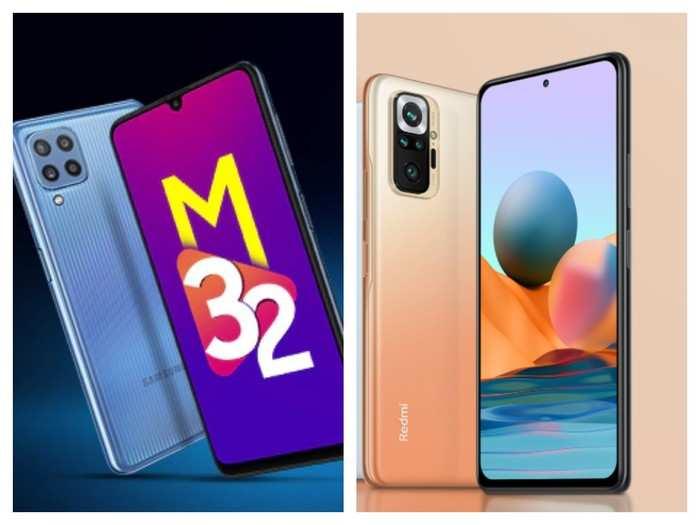 Samsung Galaxy m32 vs redmi note 10 pro
