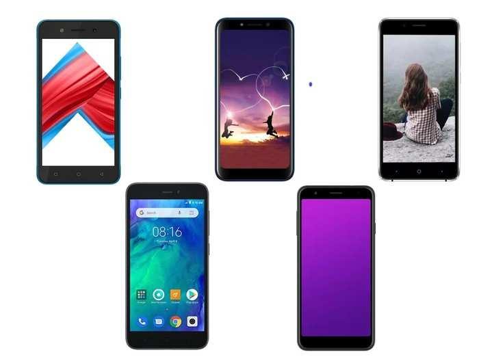 Smartphone under 5000