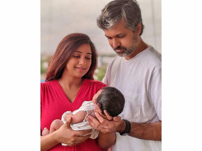 singer shreya ghoshal baby name