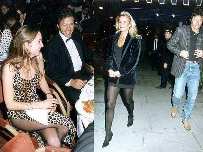 imran khan with girl