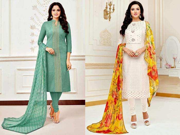 Unstitched Salwar Suit Set : स्पेशल मौकों के लिए बेस्ट हैं ये अनस्टिचड Salwar Suit, चुनें अपना पसंदीदा कलर