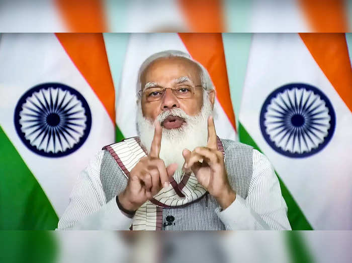 **EDS: SCREENSHOT FROM OFFICIAL YOUTUBE CHANNEL OF PM MODI** New Delhi: Prime Mi...