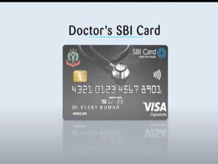 benefits of doctors sbi card
