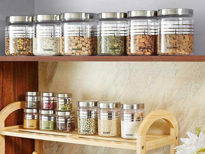 इन Storage Jar Set से आपका किचन रहेगा साफ-सुथरा और मैनेज्ड, फ्रेश लुक भी मिलेगा
