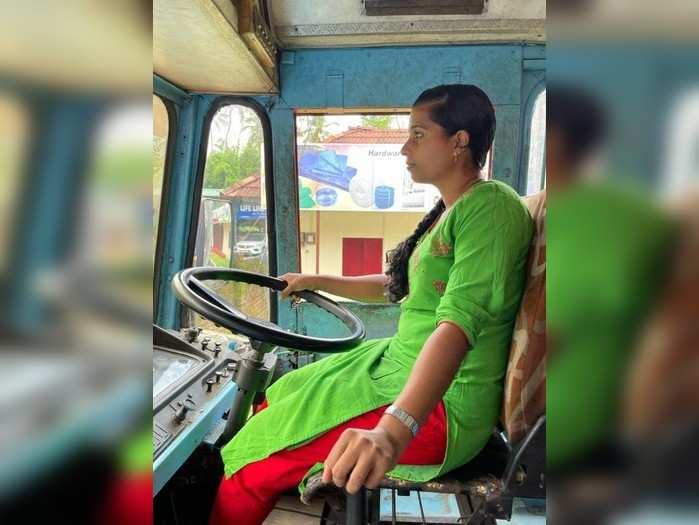 Delisha has been driving the tanker